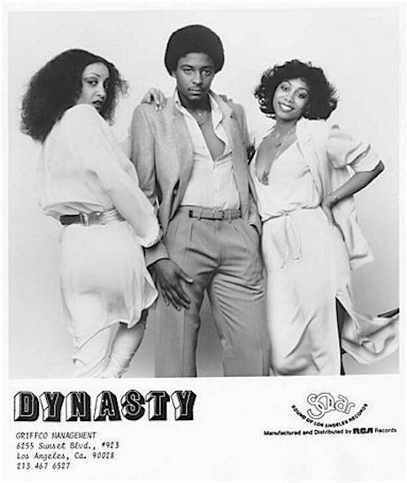 DYNASTY promo B&W photo
