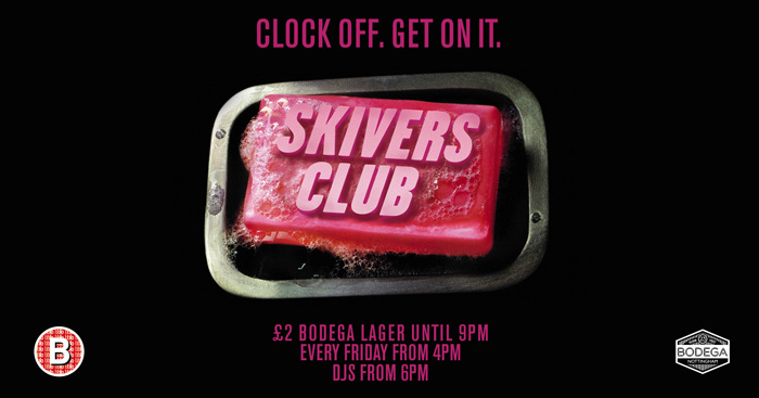 SKIVER'S CLUB BANNER image