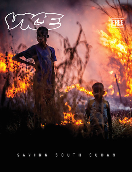 Vice Magazine South Sudan issue & link
