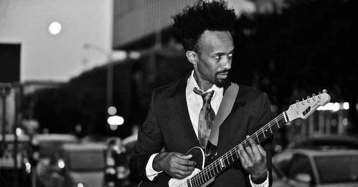 FANTASTIC NEGRITO B&W photo