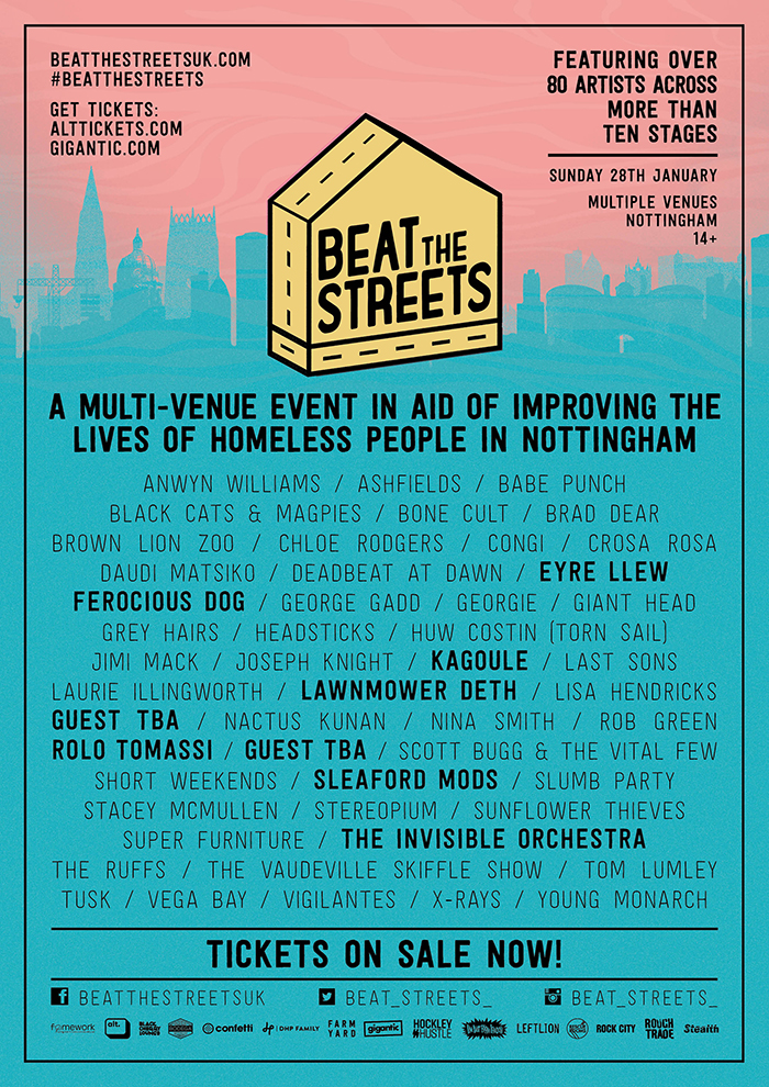 BEAT THE STREETS poster image