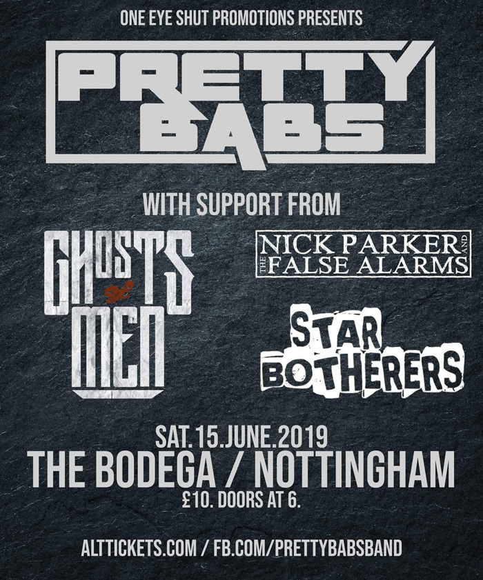 PRETTY BABS live at The Bodega Nottingham