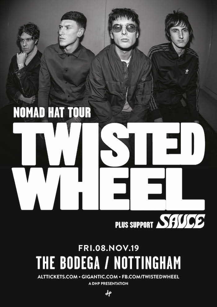 TWISTED WHEEL poster image