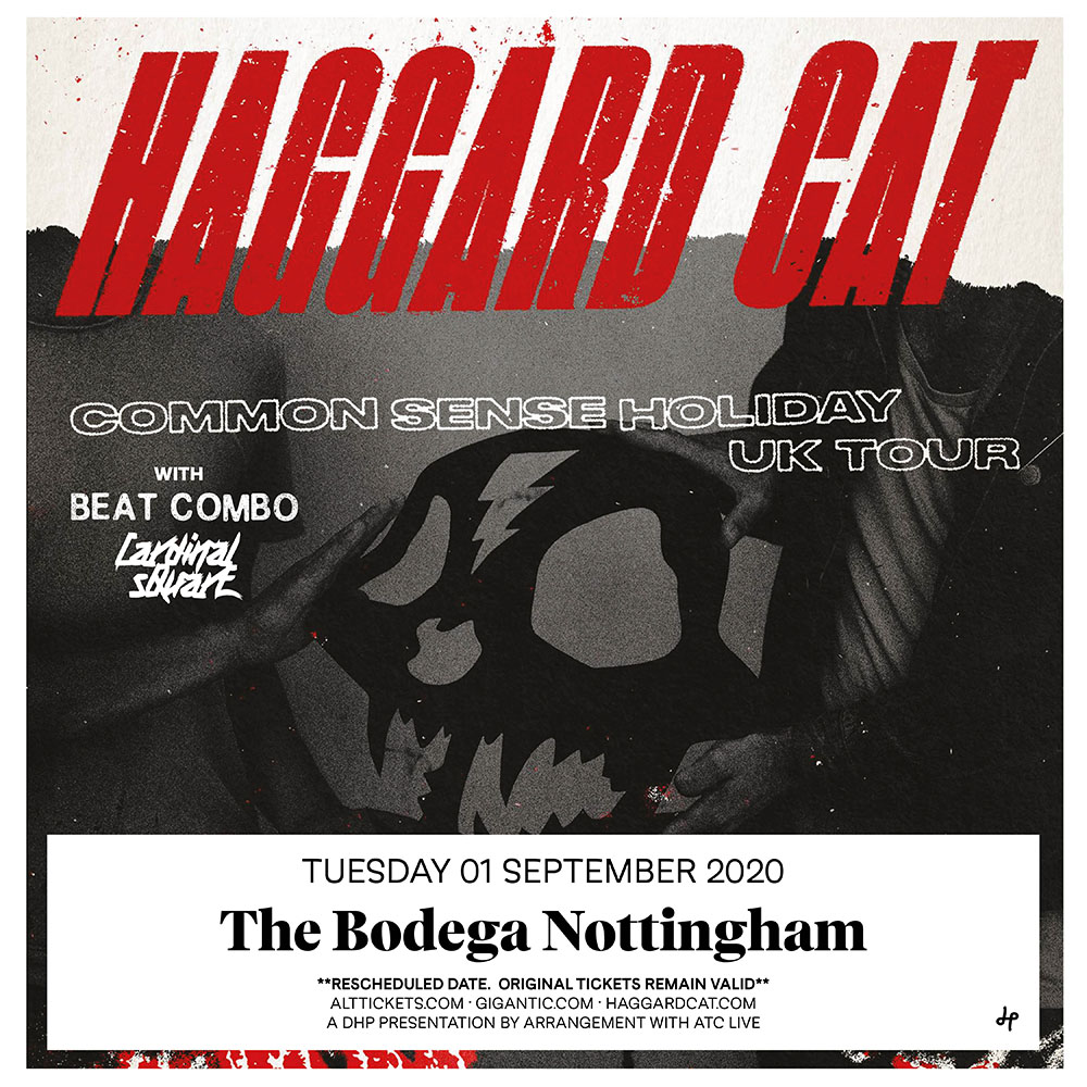 HAGGARD CAT live at The Bodega, Nottingham 2020