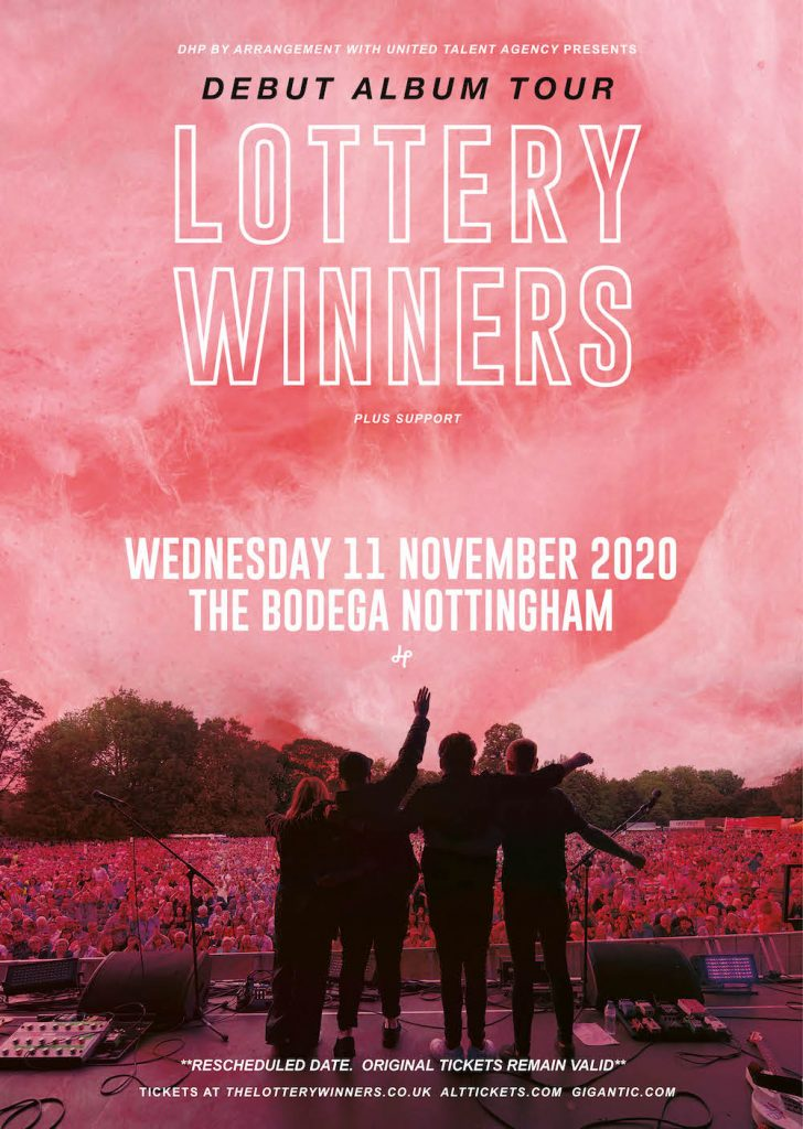 LOTTERY WINNERS poster image