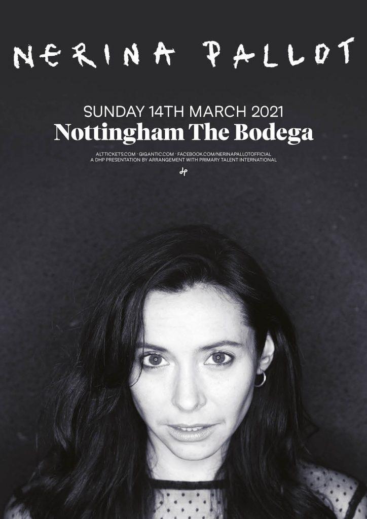 NERINA PALLOT live at The Bodega, Nottingham 2021